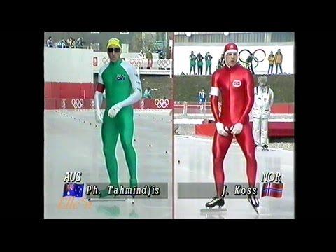 Winter Olympic Games Albertville 1992 - 10 km Koss - Tahmindjis