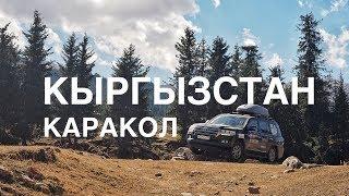 Кыргызстан (Киргизия), Каракол дорога на Иссык-Куль.Часть 14