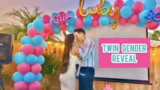 WE ARE PREGNANT + TWIN GENDER REVEAL | @SUPEReeeGO