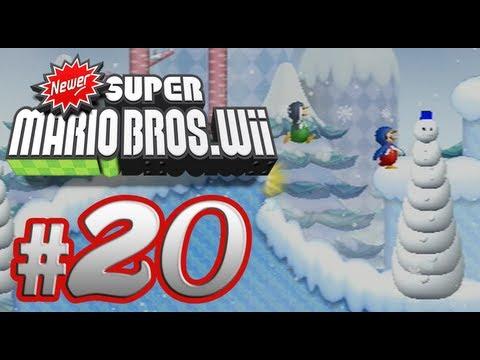Newer Super Mario Bros. Wii - 100% Co-op Walkthrough Part 20