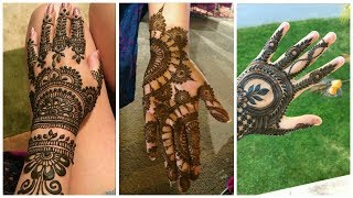 Latest beautifull Trendi simple stylish Mahendi designs