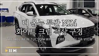 디 올뉴 투싼 NX4 화이트 크림 색상 구경하기 l […