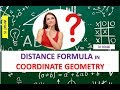DISTANCE FORMULA IN COORDINATE GEOMETRY BASED ON NCERT IN HINDI