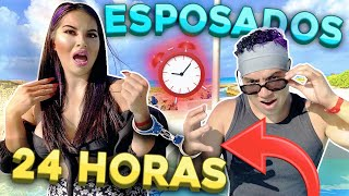 24 HORAS ESPOSADOS 🔗😵 NOS PELEAMOS | PRIMERA PARTE | KARLA BUSTILLOS