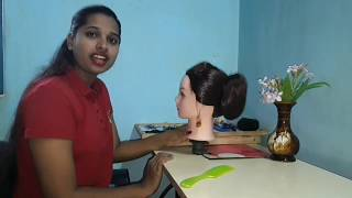 New latest ban hairstyle for short hair&long hair.quick bun hairstyle.bun hairstyle.