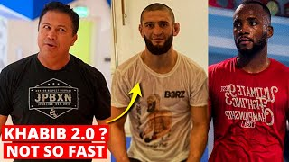 Khabib's coach REACTS to Khamzat Chimaev vs Leon Edwards. He's in trouble, if.. Izzy vs Blachowicz.