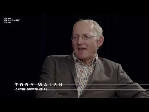 Toby Walsh (AI Professor) on The Growth of AI – Semi Permanent, Sydney
