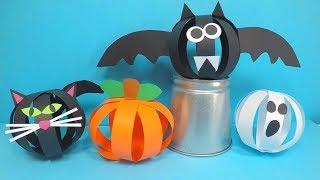 Paper Halloween Crafts | Paper Halloween Decorations