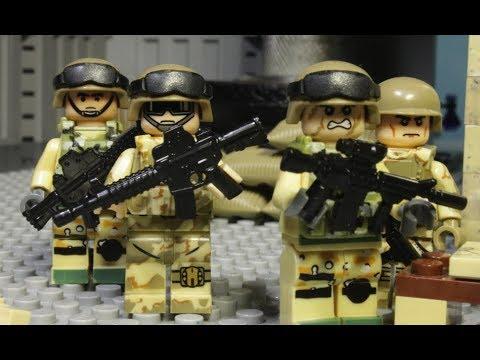 LEGO MODERN WARFARE FILM - part 2 (Long road home)