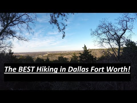 The BEST Hiking In Dallas Forth Worth!?!?