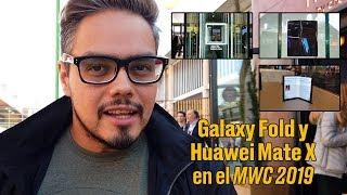 Samsung Fold y Huawei Mate X,
