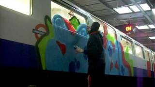 FOIM on a London subway