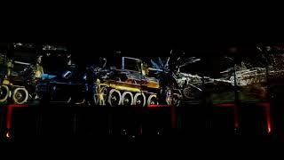 9 мая 2018. Москва - Лазерное шоу