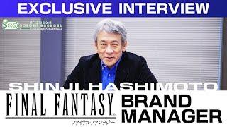 EXCLUSIVE INTERVIEW: FINAL FANTASY Brand Manager Shinji Hashimoto