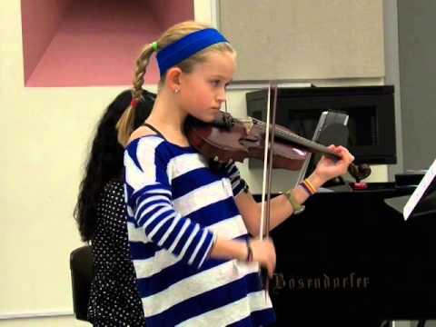 Vivaldi - Violin Concerto in A Minor 1st Movement RV 356 Op 3 No 6