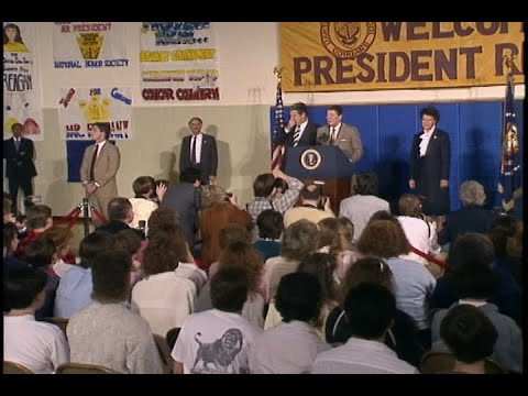 President Reagan's Remarks to Oakton High School students on March 24, 1988