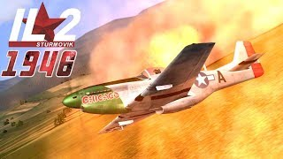IL-2 1946: Mustang Attack