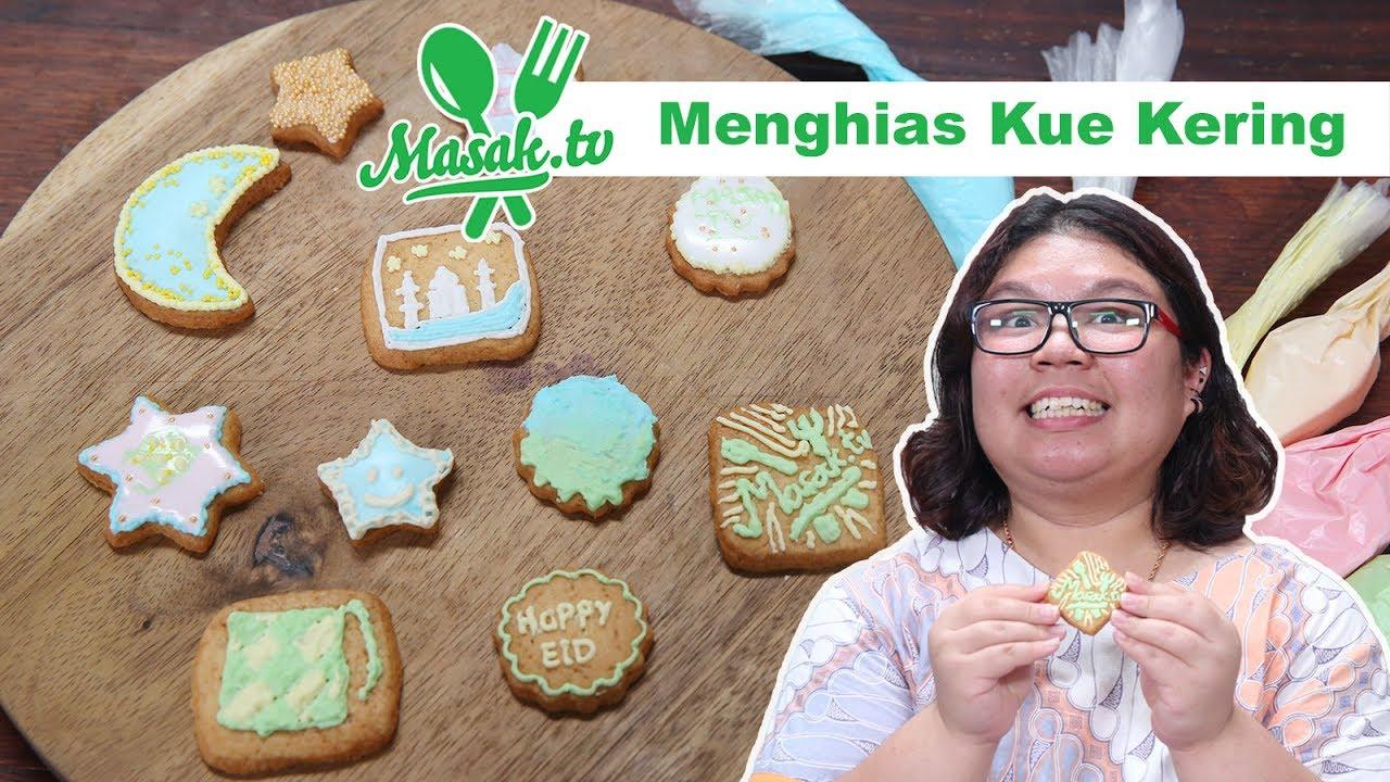 Tips Menghias Kue Kering Cookies Decoration Feat Yolanda