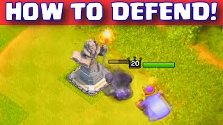 Clash of Clans TOWN HALL 11 GRAND WARDEN DEFENSE STRATEGY | COC TH11 NEW UPDATE MAXED HERO GAMEPLAY