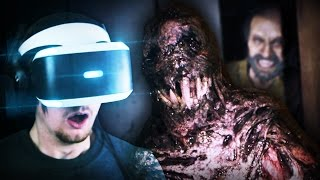EVERYTHING IS SO MUCH WORSE IN VR.. || Resident Evil 7 Midnight (True Ending) + 5 Murder Mysteries