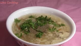 SÚP NẤM TUYẾT CHAY không thể bỏ qua - VEGETARIAN SNOW FUNGUS SOUP || Lina Cooking