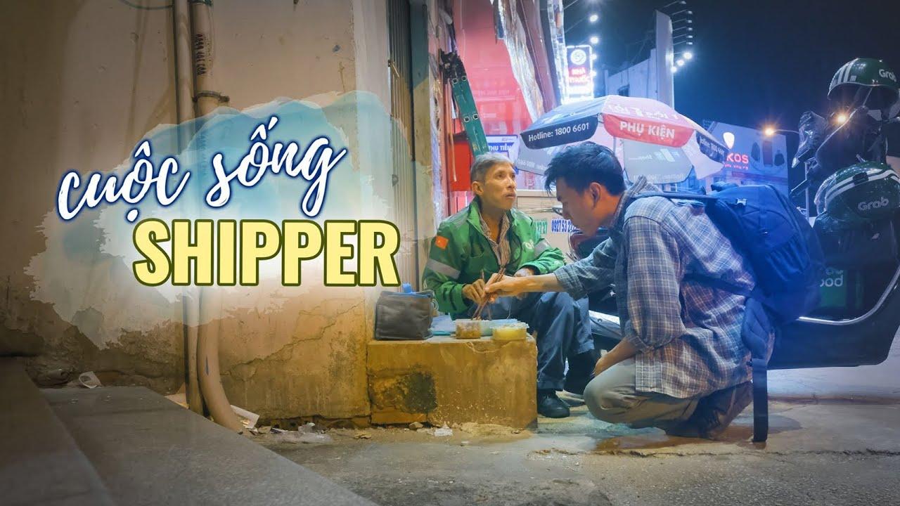 Một ngày làm Shipper, boom hàng, nắng mưa, hẻm vắng...  Khoai Lang Thang
