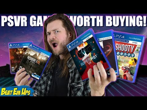 10 BEST PlayStation VR (PSVR) Games Worth Buying!