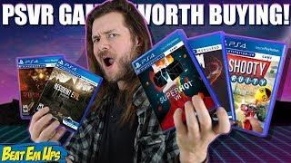 10 BEST PlayStation VR (PSVR) Games Worth Buying!