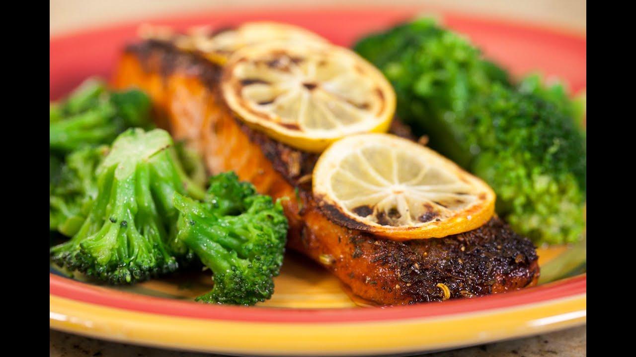 how to cook cajun salmon fillet