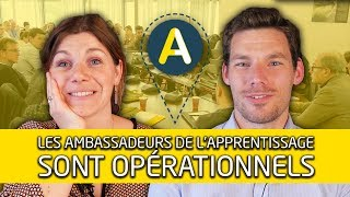 Apprentissage : des ambassadeurs unis et déterminés