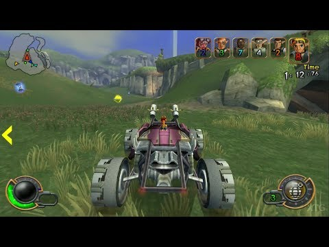 Jak X: Combat Racing PS2 Gameplay HD (PCSX2)