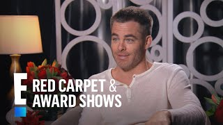 "Chris Pine Talks Nearly Nude Scene in ""Wonder Woman"" 