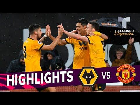 Wolverhampton vs. Manchester United: 2-1 Goals & Highlights | Premier League | Telemundo Deportes