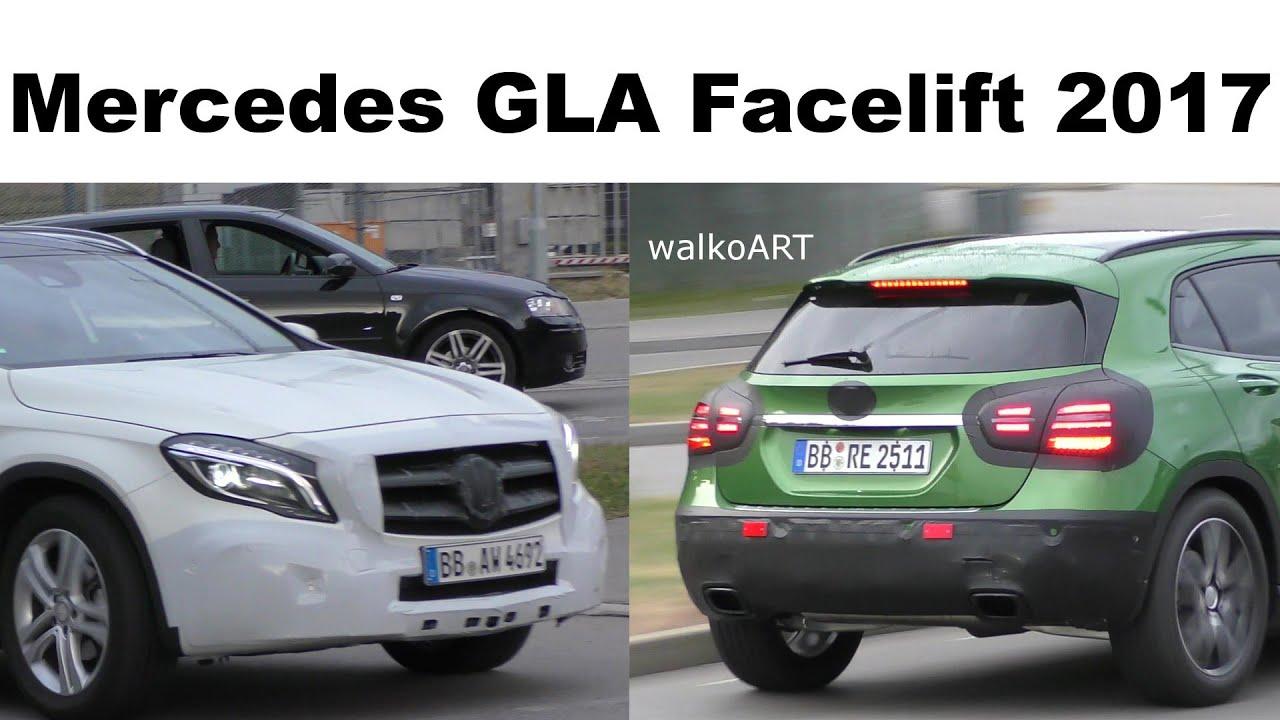 Mercedes-Benz GLA phiên bản facelift mới sẽ trình làng vào