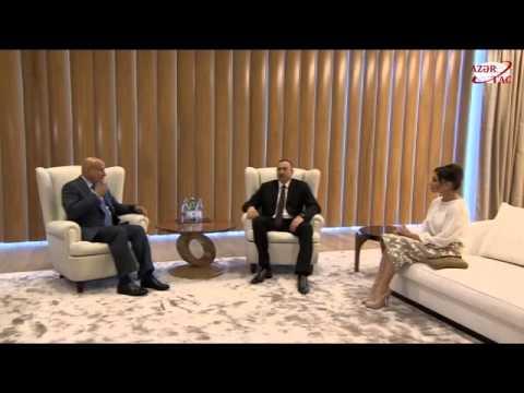 President Ilham Aliyev met with the ISESCO Director General