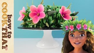 MOANA Cake Wreath How To Cook That Disney Cake