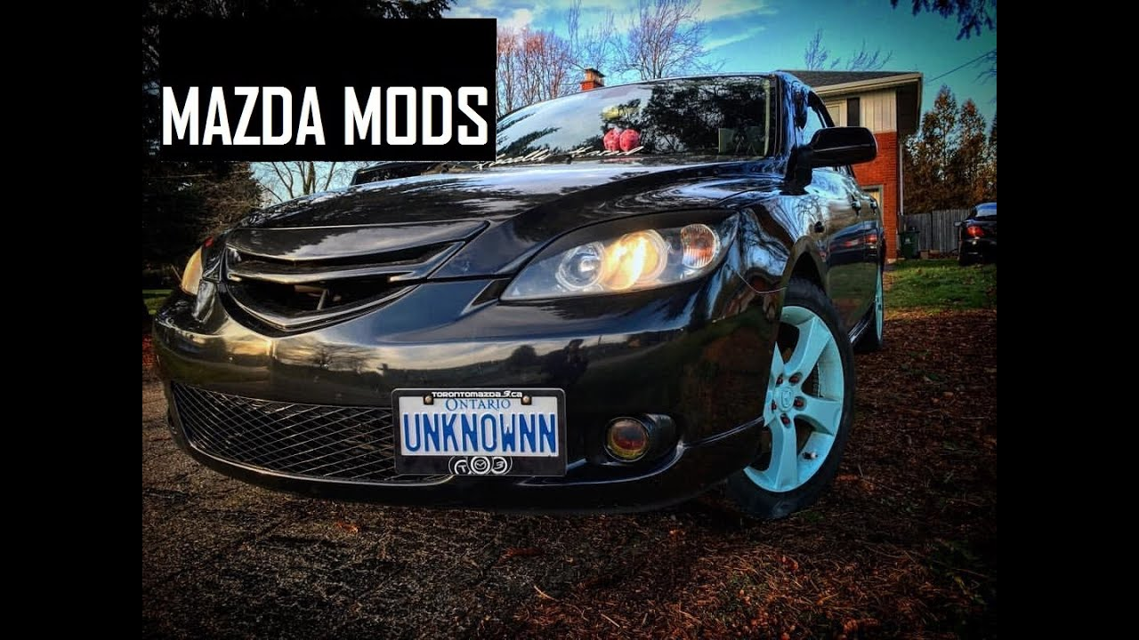 Mazda 3 Mods >> Mazda 3 Mods Beginning Vs End Hd
