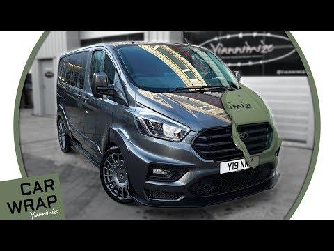 New Yiannimize Ford Transit MS-RT Van Wrapped Khaki Green