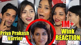 Celebrities Reaction On Priya Prakash Varrier Viral Wink | Oru Adaar Love
