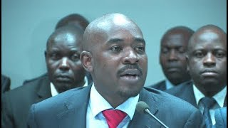 Nelson Chamisa appears Before  Commission Of Inquiry