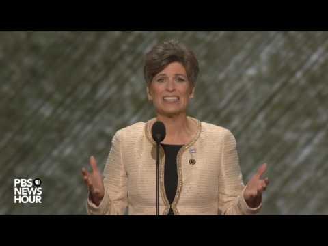 Watch Sen. Joni Ernst speak at Republican National Convention