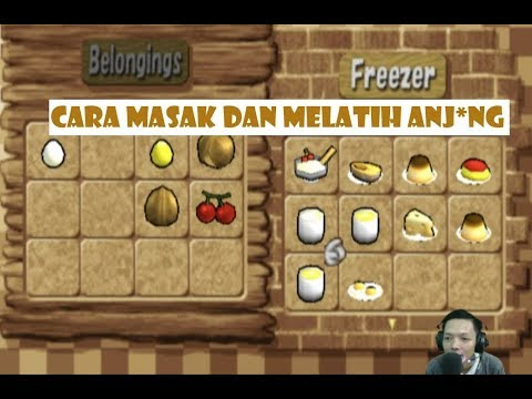Masak  Masak Dan Latih Anjing Harvestmoon Save The Homeland
