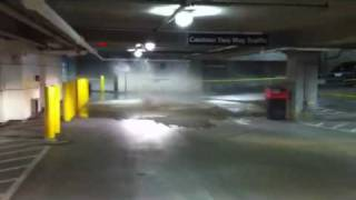 Storm sewer blows @ Georgiadome