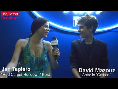 "David Mazouz Talks ""Gotham"" Finale @ American Idol"