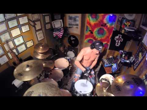 cut the cord shinedown drum cover youtube. Black Bedroom Furniture Sets. Home Design Ideas