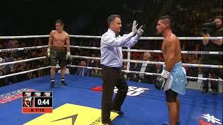 Избиение и эффектный нокаут Джукембаева в титульном бою