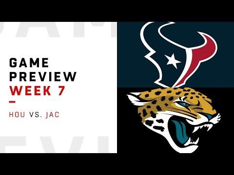 Houston Texans vs. Jacksonville Jaguars | Week 7 Game Preview | NFL Playbook