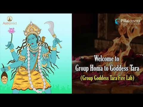 Sun Enters Scorpio: Group Homa to Goddess Tara (Group Goddess Tara Fire Lab) - LIVE