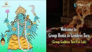 Sun Enters Scorpio: Group Homa to Goddess Tara (Group Goddess Tara Fire Lab) - LIVE