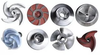 Difference between|Impellers| Single Suction|and|Double Suction
